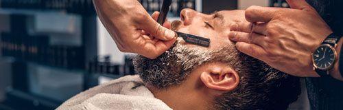 Afeitado de barba en el BarberShop en Madrid de Lorena Morlote