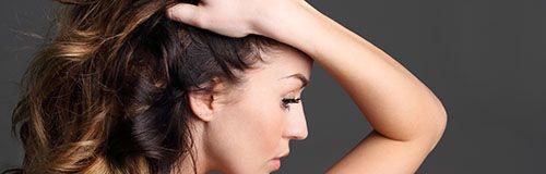 Peinado de pelo en la peluquería en Madrid de Lorena Morlote