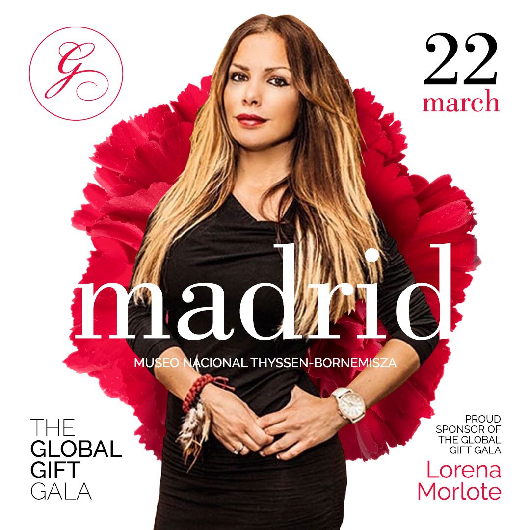 Lorena Morlote en portada de la revista Glamour