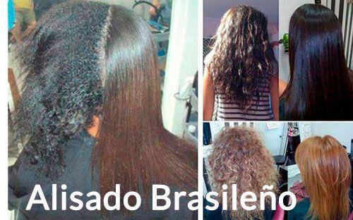 diferentes tipo de alisado para el pelo