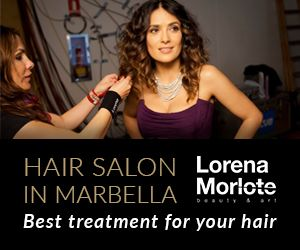 hair salon in marbella Lorena Morlote